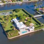 Se vende una isla privada de Palm Beach por 85 millones de dólares